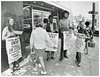 Picketing Dupont Circle People's Drug: 1970 (Washington Area Spark) Tags: retail store employees united food commercial workers union local 400 people's drug cvs 1970 washington dc strike picket boycott first contract forced overtime pharmacists pharmacy