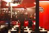Café rouge (2.5 m views ! https://society6.com) Tags: 17janvier2018 paris visite blue boule cafédeparis capitale jsebouvi man metal photo red reflet table vitre woman white blanc light lumière