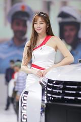 2018 TAIPEI INT'L AUTO SHOW Beautiful Model MITSUBISHI MOTORS TAIWAN (Yung Chin Su) Tags: contax contaxplanart2135 autoshow beautifulmodels showgirls