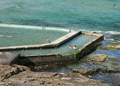South Curl Curl Rock Pool (philipbouchard) Tags: pool ocean rockpool saltwater swimming sunshine beach curlcurl south australia sydney newsouthwales nsw pacificocean shore wading water recreation people suburbs tide walls northernbeaches coast