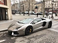 Lamborghini Aventador LP700-4. ✨ (J.C. Photographe) Tags: france paris v12 lp7004 aventador lamborghini