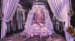 Our Bedroom (:-parfaitsprinkles-:) Tags: keke atomic gacha cheekypea anc brocante halfdeer tresblah dustbunny hpmd trompeloeil homeandinterior homeanddecor interiordesign virtualworld secondlife sl slife parfait kurimukuma home furniture