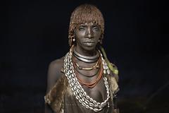 Hamer woman. Omo Valley, Ethiopia. (Raúl Barrero fotografía) Tags: ethiopia portrait woman natural tribe hamer arfica