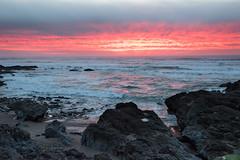 Winter Sunset (pbandy) Tags: oregon yachats sunset nature coast