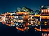 Wuzhen (Tomas Lei) Tags: wuzhen night reflextion sonya7 fe35