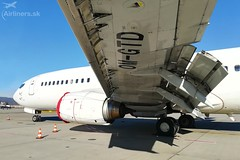OM-GTD Go2Sky Boeing 737-46J (airliners.sk, o.z.) Tags: airlinerssk go2sky boeing b73746j bratislava btslzib