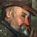 CEZANNE,1890-94 - Cézanne coiffé d'un Chapeau mou (Tokyo) - Detail f