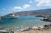 Boat in the Port - Andros, Greece (ChrisGoldNY) Tags: chrisgoldphoto chrisgoldny chrisgoldberg forsale licensing bookcovers bookcover albumcover albumcovers sonyalpha sonya7rii sonyimages sony greece greek grecia greekislands cyclades europe european aegean andros boats docked port sea water blue