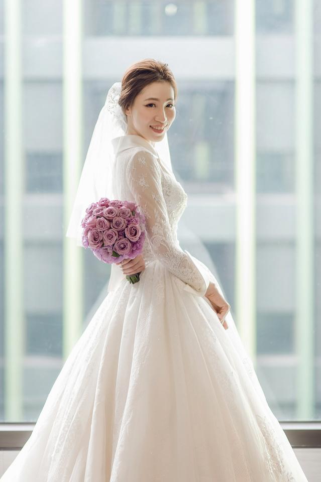 婚攝 高雄林皇宮 婚宴 時尚氣質新娘現身 S & R 091