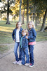 The Path (Angela Weirauch Photography) Tags: independencepark pearland texas portrait girl blue smile canon canon6d 6d ef24105mm denim tree trees girls sister sisters twins