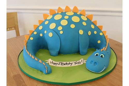 Davis Dinosaur Cake