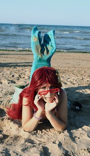 Grell Sutcliff Cosplay - the little mermaid