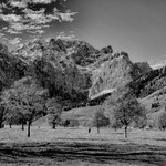 Eng , Montains in BW thumbnail