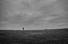 Silence (Dan-Schneider) Tags: streetphotography street silhouette blackandwhite bw sky schwarzweiss monochrome moment mood minimalism dike fuji fujix schneider