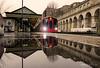 Mirror reflection at South Kensington (Luke Agbaimoni (last rounds)) Tags: london londonunderground londontube train trains transportforlondon tube reflection reflect reflections mirror