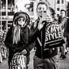 it's my style (Gerard Koopen) Tags: nederland amsterdam capital city itsmystyle shopping people man woman sunglasses candid tourists bw blackandwhite blackandwhiteonly straat street straatfotografie streetphotography fashion fujifilm fuji xpro2 56mm 2017 gerardkoopen