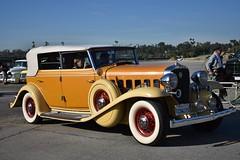 HCCA 62nd Holiday Motor Excursion (USautos98) Tags: 1932 cadillac caddy caddie allweather phaeton