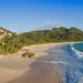 Most beautiful beach Anse Intendance Mahe Seychelles