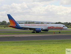 Jet2 B757-23A G-LSAC taxiing at MAN/EGCC (AviationEagle32) Tags: manchester man manchesterairport manchesteravp manchesterairportatc manchesterairportt1 manchesterairportt2 manchesterairportt3 manchesterairportviewingpark egcc cheshire ringway ringwayairport runway runwayvisitorpark uk unitedkingdom airport aircraft airplanes apron aviation aeroplanes avp aviationphotography aa aviationlovers avgeek aviationgeek aeroplane airplane planespotting planes plane flying flickraviation flight vehicle tarmac jet2 jet2com jet2holidays boeing boeing757 b757 b757200 b757w b757200w b75723a 757 glsac rb211