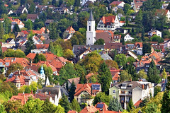 Freiburg, Germany (yonca60) Tags: germany freiburg almanya deutschland landscape cityscape city medievalcities medieval ortacagsehirleri houses roof cathedral church