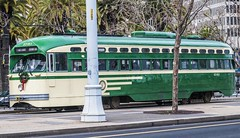 San Francisco (Ashly Myrick- Crocker) Tags: sf sanfrancisco the city foggy thecity california citylife trolly streetcar market ferrybuilding pier1