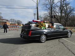 DPD Officer Glenn Anthony Christopher Doss Procession (Evan Manley) Tags: detroit michigan policedepartment glenn anthony christopher doss procession funeral memorial service policecar police lawenforcement blue line