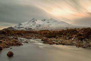 Sgùrr nan Gillean and The River Sligachan Isle of Skye