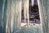 View From Behind the Curtain..., 2018.01.10 (Aaron Glenn Campbell) Tags: rgsp rickettsglen statepark fairmounttownship luzernecounty outdoors optoutside nature fallstrail kitchencreek glenleigh winter snow ice frozen curtain columns 3xp ±1ev hdrmacphun aurorahdr2017 nikcollection colorefexpro viveza on1effects sony a6000 ilce6000 mirrorless rokinon 12mmf2ncscs wideangle primelens manualfocus emount tiffen cpfilter circularpolarizer