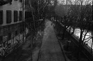 Mühlendamm Spreeufer Berlin Mitte Leica II Bj 1932