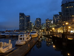 Goodnight Vancouver (knightbefore_99) Tags: vancouver night late water coal harbour best boat city greed foreign owned lights bc west coast condos