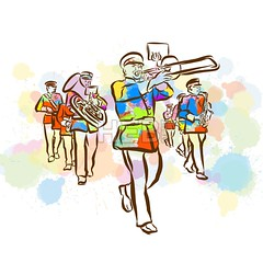 Colorful Marching Band Sketch (Hebstreits) Tags: acoustic art audio background band bass beat button cartoon circle concept design drawing drum drumstick drummer drumming drumset flat glass graphic hit icon illustration instrument isolated line march marching melody music musical percussion percussive play retro rhythm shadow sign silhouette snare song sound stick sticks style symbol vector white