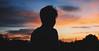 (GerardUntalan) Tags: silhouette friend rooftop chillin sunset sky