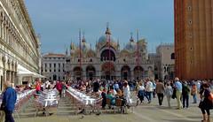 Venedig Piazza San Marco Alte Prokuratien(Procuratie Vecchie) links (Wolfsraum) Tags: procuratievecchie venedig piazzasanmarco san marco