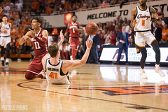3R1A8874.jpg (jacksonlavarnway) Tags: oklahoma state cowboys sooners basketball bedlam hoops big12 cheer throwback uniforms ou osu rivalry sports action traeyoung canon 5d mark 3 70200