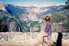 Glacier Point, CA (buddу) Tags: usa us unitedstates america west california ca cali yosemite boy man fire adventure travel film 35mm analogue пленка olympus ektar kodak sky mountain