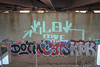 Dotm, Cats, Klok (NJphotograffer) Tags: graffiti graff new jersey nj bridge dotm cdc crew cats ckd void ldz klok roller