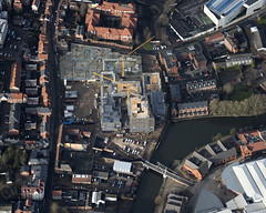 Norwich St Annes Quarter development - aerial image (John D Fielding) Tags: norwich norfolk stannesquarter kingsstreet riverside river yare above nikon d810 aerial construction orbithomes kingstreet highresolution hirez hires highdefinition hidef aerialphotograph aerialphotography aerialimage aerialimagesuk aerialview britainfromtheair britainfromabove droneview viewfromplane