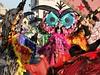 IMG_9750 Santa Croce sull'Arno - Carnevale 2018 (Giovanni Meniconi) Tags: carnevale carnival santacrocesullarno toscana tuscany italia italy costume trucco maschera mascherata canon eos60d arte tradizione artista modella ragazza girl portrait ritratto primopiano colori colors makeup giovannimeniconi pisa persone