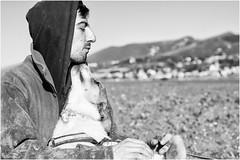 Samuele (andaradagio) Tags: andaradagio bianconero bw canon dog cane miglioramicodelluomo nadiadagaro rifugioohana bandaa4zampeumbria