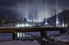 2371 (Keiichi T) Tags: river 光柱 川 lightpillar 6d cloud 雲 winter night shadow eos canon 日本 影 snow 冬 雪 japan 夜景 light sky 夜