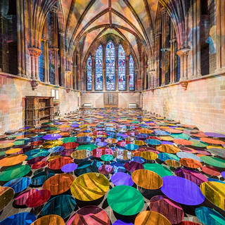 Our Colour Reflection by Liz West at Chester Cathedral (Feb 2018)