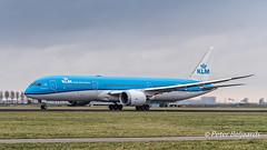 PH-BHA   Boeing 787-9 Dreamliner - KLM Royal Dutch Airlines (Peter Beljaards) Tags: aviationphotography schiphol amsterdam eham nikond5500 36l polderbaan phbha 787 boeing787 boeing7879 klm dreamliner carnation anjer flyingdutchman dutch airliner plane jet passengerjet