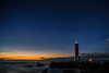 Lighthouse (aotaro) Tags: lighthouse stars kanagawa starrysky fe1635mmf4zaoss ocean dawn jogashimaisland atdawn morning ilce7m2 waves japan sea