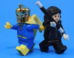 Wielders of Magic (-Metarix-) Tags: lego super hero minifig dc comics comic dr fate zatanna magic wielders new 52 rebirth universe justice league heroes