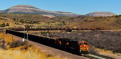 Herzog going for Rocks (Woodypug) Tags: herzog ballast unittrain crozier empty arizona russeljeans home seligmansub landscape locomotive railroad