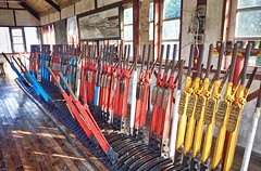 Bago Burma 15th January 2018 (loose_grip_99) Tags: bago pegu burma myanmar asia railway railroad rail train signal box signalling levers burmese railways br mr trains farrail january 2018
