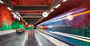 _MG_3199 - Time never stops! (AlexDROP) Tags: 2018 stockholm sweden underground metro art travel architecture color city longexposure movement wideangle urban scape canon6d ef16354lis banner best iconic famous mustsee picturesque postcard europe interior
