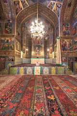 Vank Cathedral, Isfahan, Iran (Feng Wei Photography) Tags: armenian traveldestinations isfahan art landmark religion indoors famousplace builtstructure iran iranianculture travel chandelier middleeast lowangleview cathedral church persian vertical colorimage intricacy goldcolored christian christianity vankcathedral persianculture decoration architecture fresco spirituality tourism ornate armenianculture irn