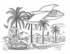 Summo (rod1691) Tags: myart art sketchbook bw scifi grey concept custom car retro space hotrod drawing pencil h2 hb original story fantasy funny tale automotive illistration greyscale moonpies sketch sexy flying lawnchair