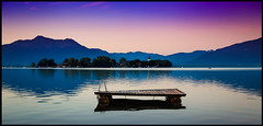 Dreamy Chiemsee (joseph_donnelly) Tags: germany deutschland bayern bavaria chiemsee lake see island insel fraueninsel morning dawn morgen mountains alps